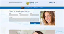 Preview of campbellhousedentalpractice.co.uk